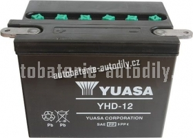 Motobaterie YUASA YUMICRON 12 V 32 Ah 240 A YHD-12