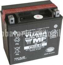 Motobaterie YUASA SUPER MF 12 V 12 Ah 200 A YTX14L-BS