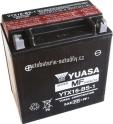 Motobaterie YUASA SUPER MF 12 V 14 Ah 230 A YTX16-BS-1