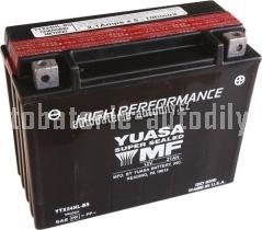 Motobaterie YUASA SUPER MF 12 V 21 Ah 350 A YTX24HL-BS