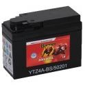 Motobaterie BANNER BIKE BULL AGM + SLA 12 V 2 Ah 45 A 502 01 YTZ4A - BS