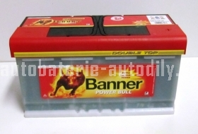 Autobaterie BANNER POWER BULL PROFESIONAL 12V 100 Ah 800 A