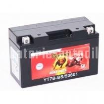 Motobaterie BANNER BIKE BULL AGM + SLA 12 V 6 Ah 120 A 50601 YT7B-BS