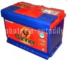 Autobaterie BANNER RUNNING BULL AGM 12V 60 Ah 640 A  560 01