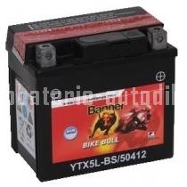 Motobaterie BANNER BIKE BULL AGM 12 V 4 Ah 70 A 50412 YTX5L-BS