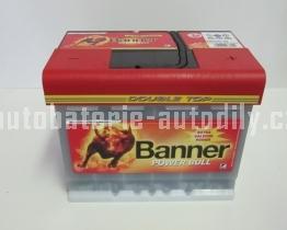 Autobaterie BANNER POWER BULL PROFESIONAL 12V 63 Ah 600 A