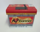 Autobaterie BANNER POWER BULL PROFESIONAL 12V 63 Ah 600 A