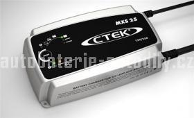 Nabíječka autobaterií profesionální  Ctek MXS 25 12 V