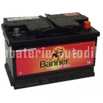 Autobaterie BANNER STARTING BULL 12 V 62Ah 480 A 562 19