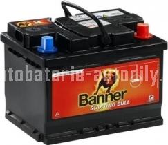 Autobaterie BANNER STARTING BULL 12 V 80Ah 600 A 580 09 ASIA PRAVÁ