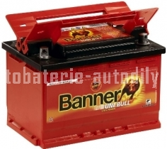 Autobaterie BANNER UNI BULL 12 V 69 Ah 520 A 50 300