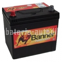Autobaterie BANNER POWER BULL 12 V 40 Ah 300 A P40 27 ASIA LEVÁ